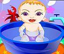 Tatlı Bebek Banyosu