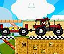 Mario Traktör Yarışçısı
