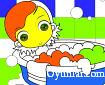 Banyoda Çocuk Boyama