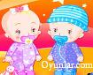 Tatlı İkiz Bebekler